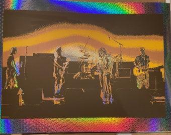 "Brian Methe LE Screen Printed Art Print ""5 Against 1"" 2021 free US shipping Foil Variant"