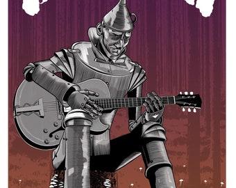 Shakey Graves Cincinnati 2021 Screen Printed Concert Poster Artist Edition
