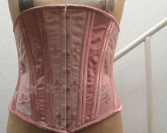 Pink Victorian Corset Large