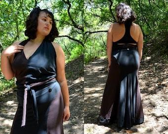 Extra Large Brown And Black Mermaid Bessie Skirt