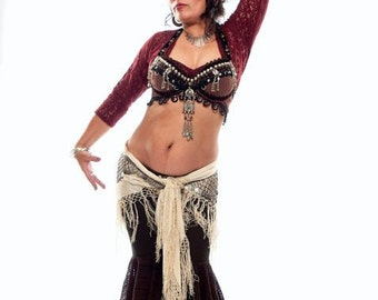 PATTERN For  Sewing/ Fluffie Rufflie Dance Pant/Tribal Belly Dance/ Streampunk/ Samba /Costume/ Multi Sized Pattern