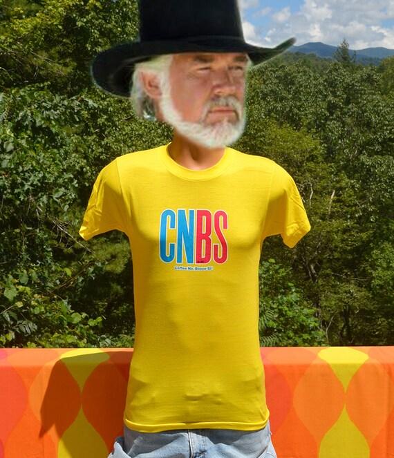 70s vintage t shirt COFFEE no BOOZE si funny iron on tee Medium Small spanish wtf