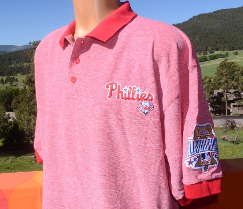 88537e68 Vintage 90s polo golf shirt philadelphia PHILLIES all star 96 | Etsy