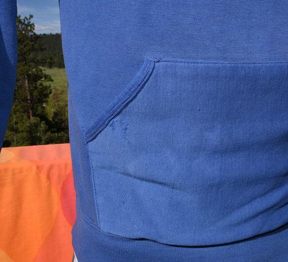 vintage 70s hoody sweatshirt FOOTBALL sulphur Sma… - image 4