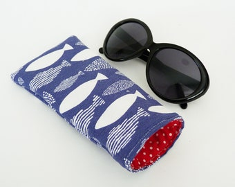 Tench Fish Style Glasses Spectacle Case Fishing Present FREE ENGRAVING