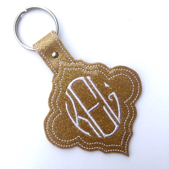 Monogram keychain Custom keychain womens gift Personalized  6070cc4961
