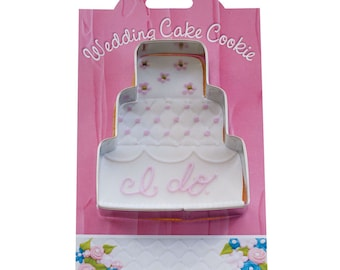 Wedding Cake Cookie Cutter 4 Inches