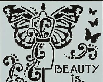Mannequin 783-A452 Stencil