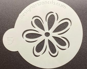 """Flower Mini Cookie Stencil 2 1/4"""""""