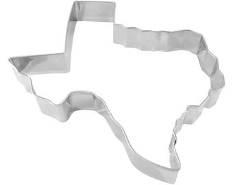 """Texas Cookie Cutter - Stainless Steel Metal Cookie Cutter 7"""""""