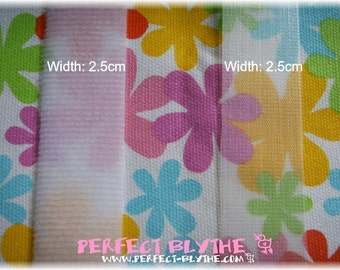 Transparent Thin Velcro for Doll Clothes (2 yards set)
