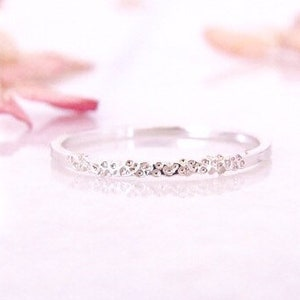 Skinny Assorted Spacer Rings Set of 6 Stacking Rings 14 K Gold Rose Gold filled and Sterling Silver Thin Rings Dainty Pattern Rings
