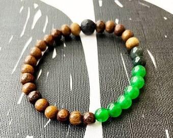 Green Aventurine  MALA bracelet