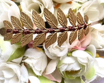 MADE TO ORDER  Bride headband  Goddess headband for engagement and pregnancy photoshoots