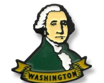 George Washington Enamel Pin - The First President