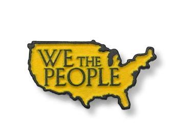We The People United States Enamel Pin