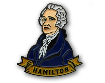 Alexander Hamilton enamel Pin