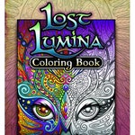 Lost Lumina Digital Edition- 26 Coloring Pages + Story Pages, Coloring Tips, Color Wheel and Grayscale Test Sheet
