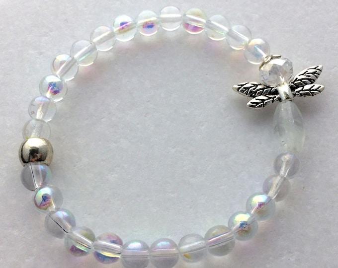 Firefly Glow Glass Bracelet