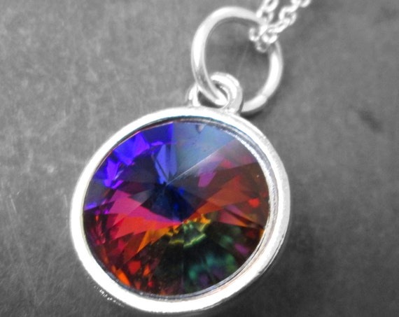 Swarovski Crystal Volcano Rivoli Necklace