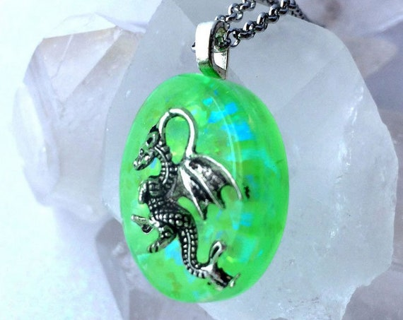 Frozen Dragon Glow Necklaces