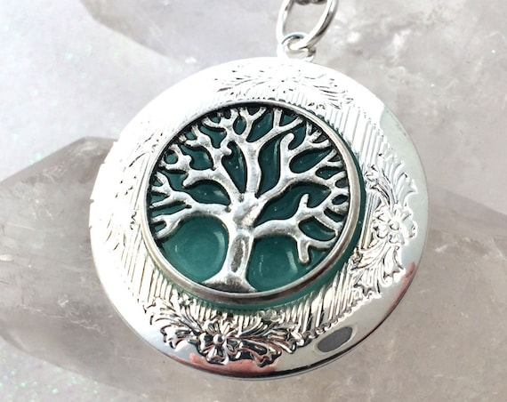 The Original Glow Locket Tree of Life Pendant Necklace
