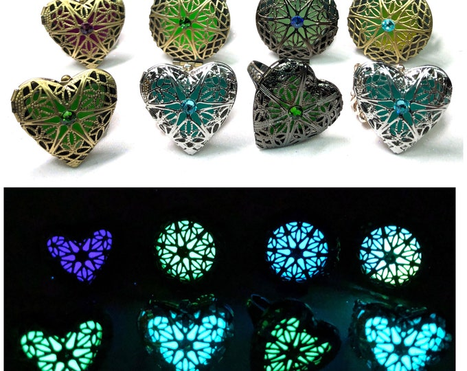 Glow Locket Rings