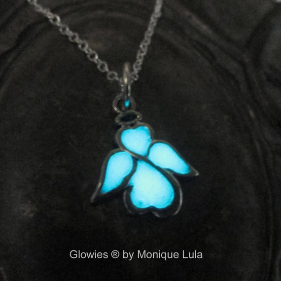 Glowing Angel Glow in the Dark Necklace