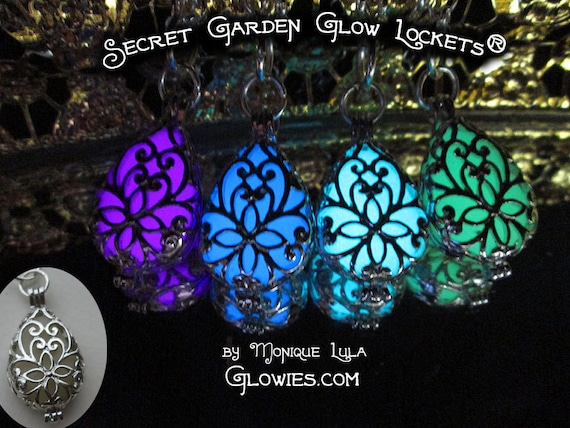 Secret Garden Glow Locket Necklace