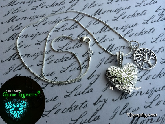 Heart of the Forest Glow Locket ® with Tree of Life Charm