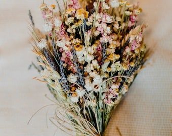 Custom Sunny Yellow Blush Lavender and Sage Brides Bouquet Wedding Flowers   Bridesmaids Boutonnieres Corsages Decor