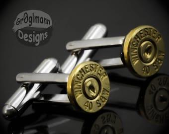 Cufflinks - Winchester 40 Bullets