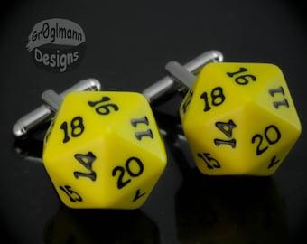 Cufflinks - D20