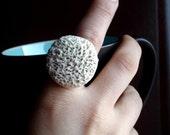 Ceramic Ring - Coral