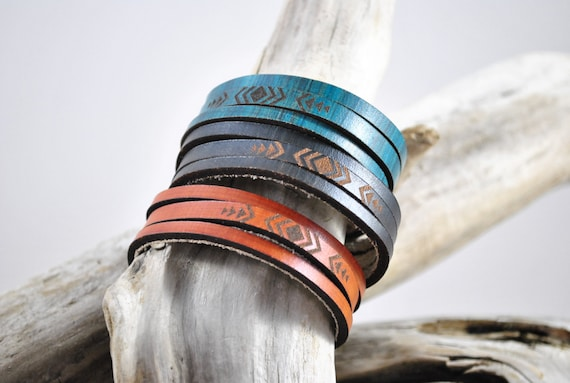 WRAP | thin | leather cuff