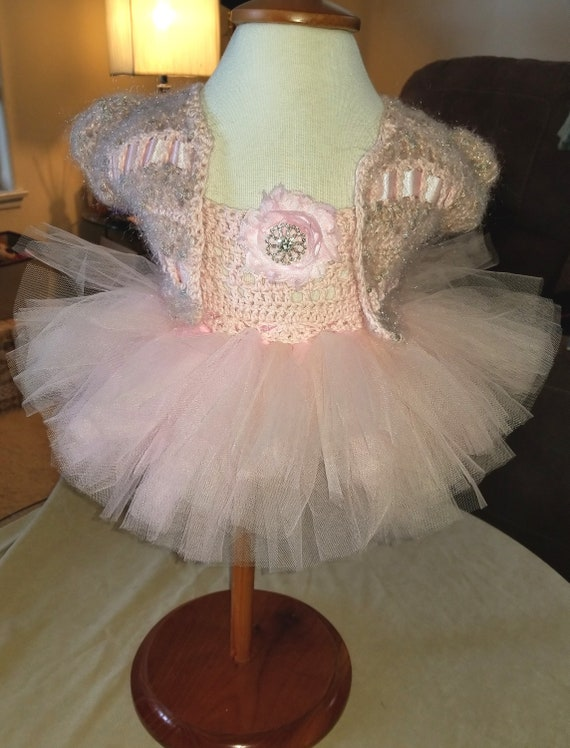Princess Tutu - Handmade Luxury- Hand Crocheted One of a Kind