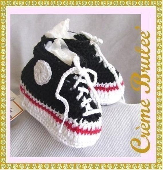 BABY BOYS Newborn -Preemie and Micro Preemie -Cute as a Button - High top Tennie  0-4 mos Size 1. Baby Booties