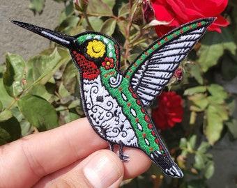Hummingbird Iron-on Patch