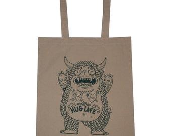 Câlin Monster toile Shopping sac fourre-tout