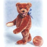 Happy - Miniature Teddy Bear Kit - Pattern - by Emily Farmer