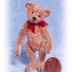 Old Pal Miniature Teddy Bear Kit - Pattern - by Emily Farmer