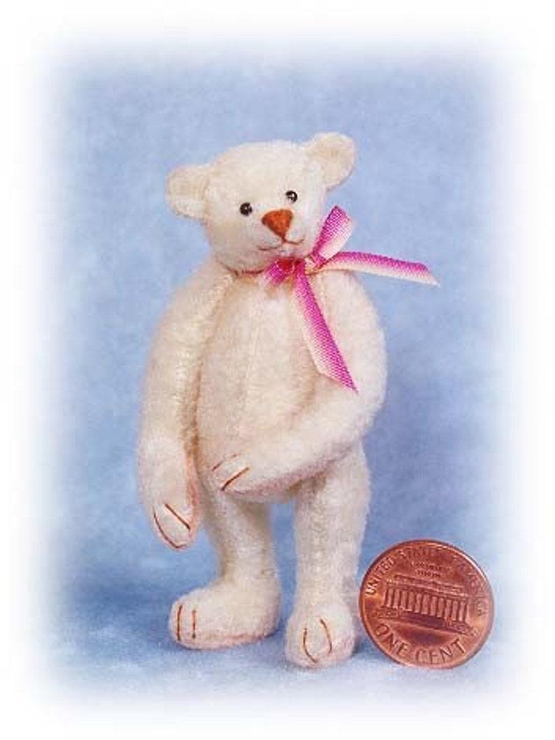 Ima Comfort Miniature Teddy Bear Kit  Pattern  by Emily image 0