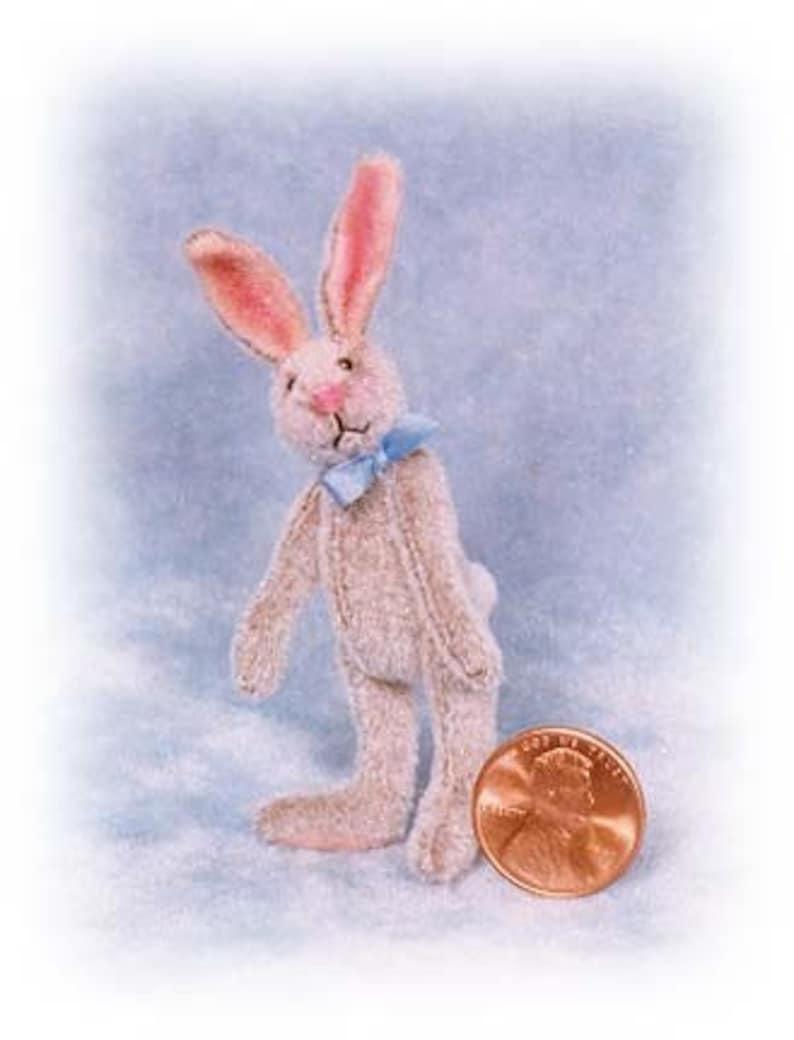 Lanky Bunny Miniature Rabbit Kit  Pattern  by Emily Farmer image 0