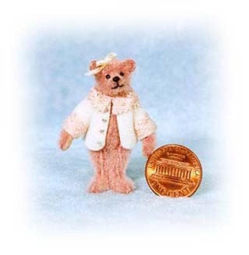Little Brenda Bear Miniature Teddy Bear Kit  Pattern  by image 0