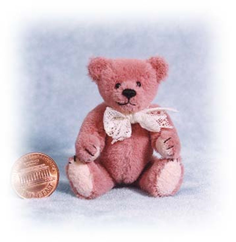 PDF Pattern & Instructions for Miniature Teddy Bear  Chubby image 0