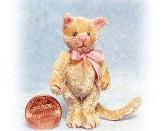 Tinker Kitty - Miniature Cat Kit - Pattern - DIY - by Emily Farmer
