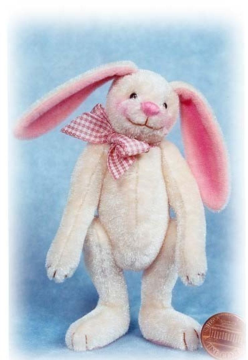 Buttercream Bunny  Miniature Bunny Kit  Pattern  by Emily image 0