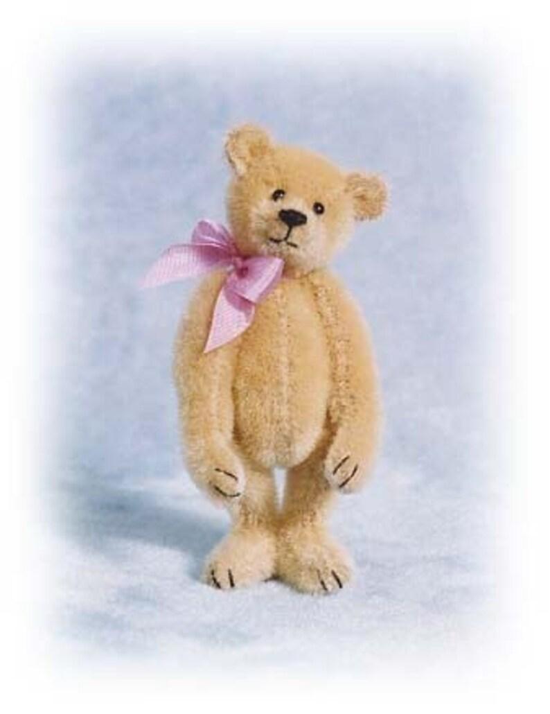 Miss Butternut  Miniature Teddy Bear Kit  Pattern  by Emily image 0