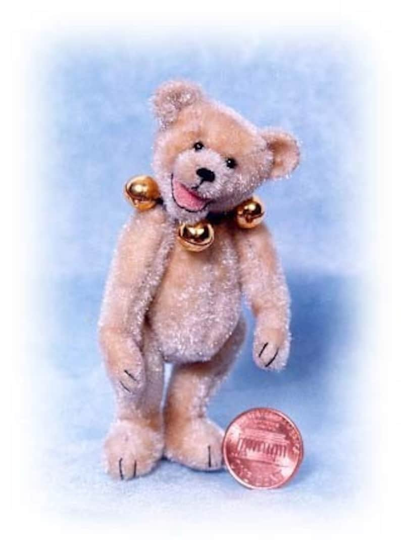 Judy Jingles  Miniature Teddy Bear Kit  Pattern  by Emily image 0
