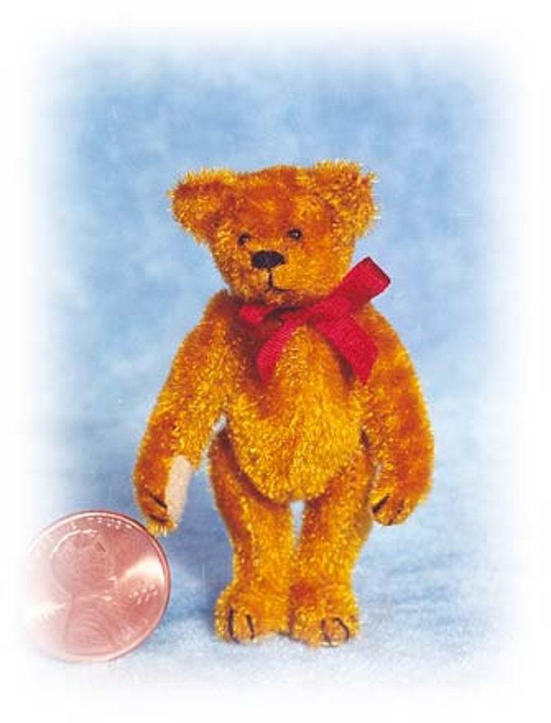 PDF Pattern & Instructions for Miniature Teddy Bear  Circa image 0